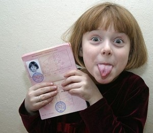 Загранпаспорт за 1 день ребенку
